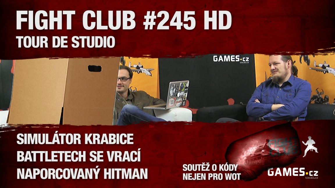 Fight Club #245 HD: Tour de Studio
