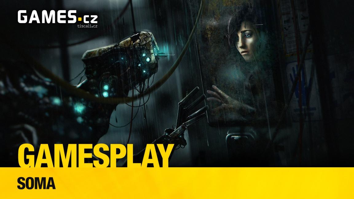 GamesPlay: hrajeme podvodní horor Soma od tvůrců Amnesie