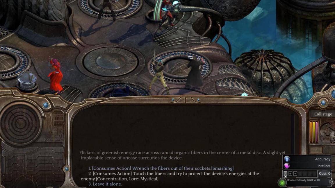 Krize v RPG Torment: Tides of Numenera nemusíte řešit jen násilím