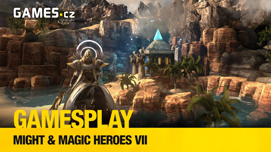 GamesPlay: hrajeme Might & Magic Heroes VII s Radkem Friedrichem