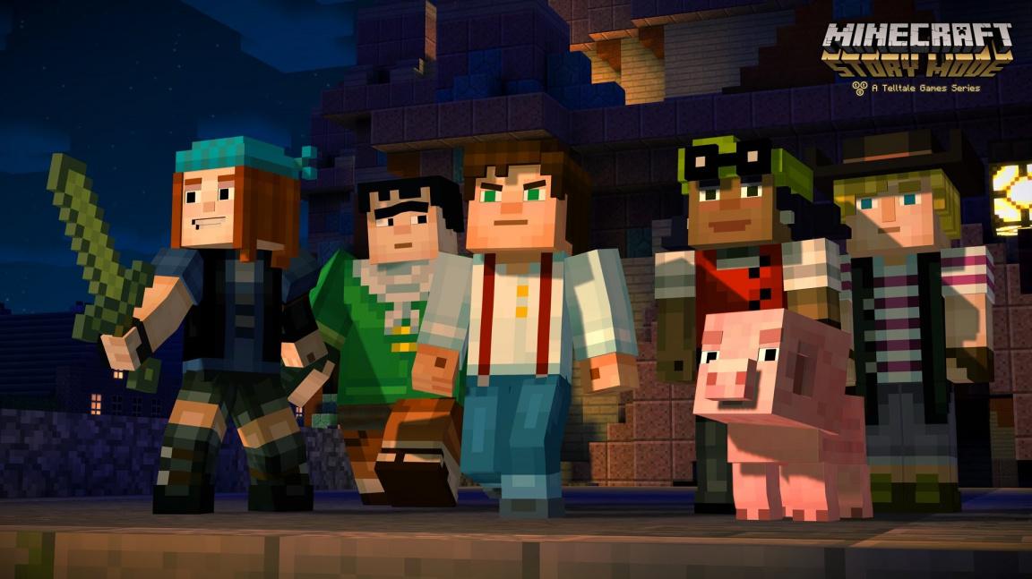 Nadšení dabéři oznamují vydání první epizody Minecraft: Story Mode