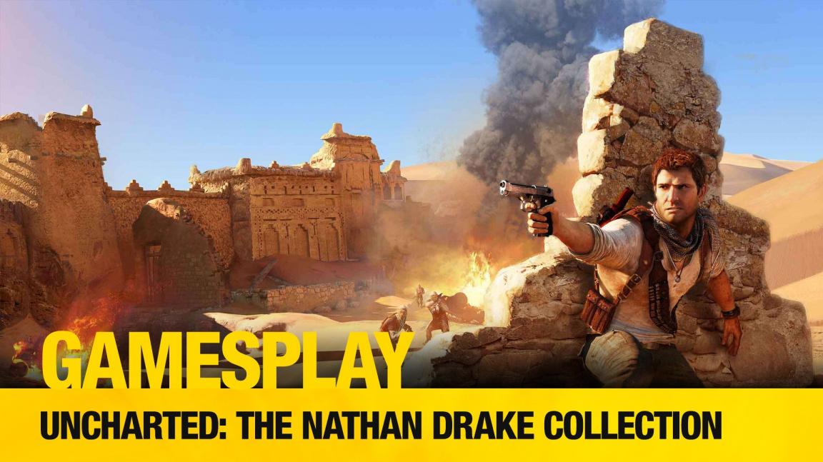 GamesPlay: hrajeme parádní HD kolekci Uncharted: The Nathan Drake Collection