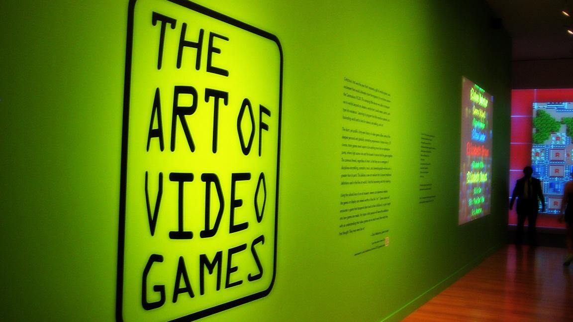 Hry v muzeích. Je to umění nebo ne?