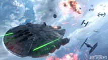 Ve Star Wars Battlefront budete moci pilotovat Millennium Falcon a Slave I