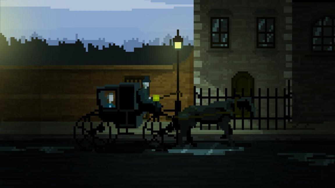 Minimalistický horor The Last Door roztáčí podruhé kola příběhu podle Lovecrafta a Poea