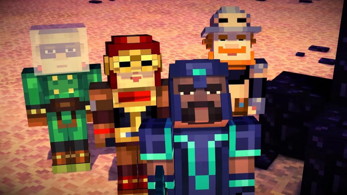 Druhá epizoda Minecraft: Story Mode je nečekaně venku