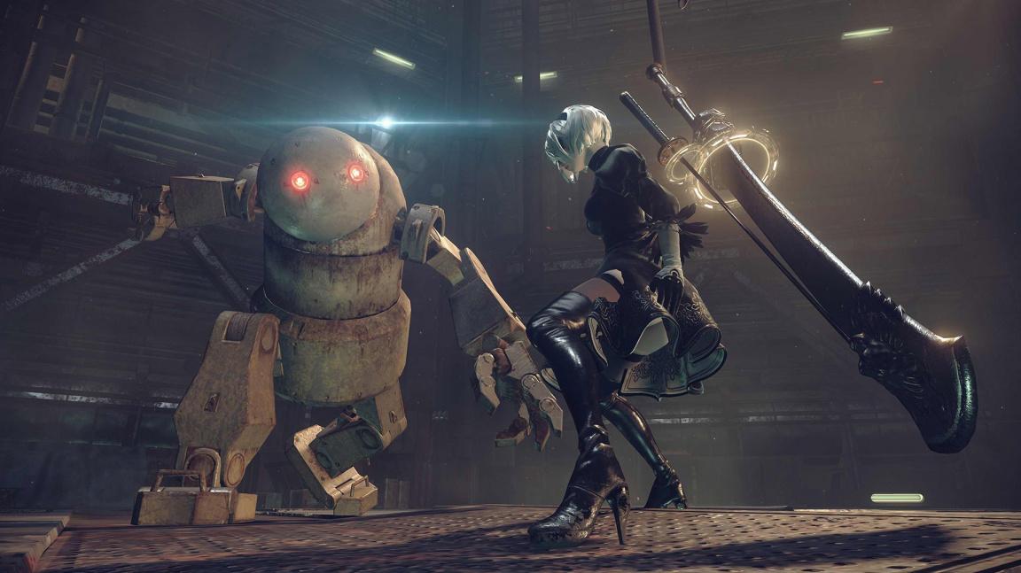 Akční RPG Nier: Automata slibuje novou úroveň soubojů díky tvůrcům Bayonetty