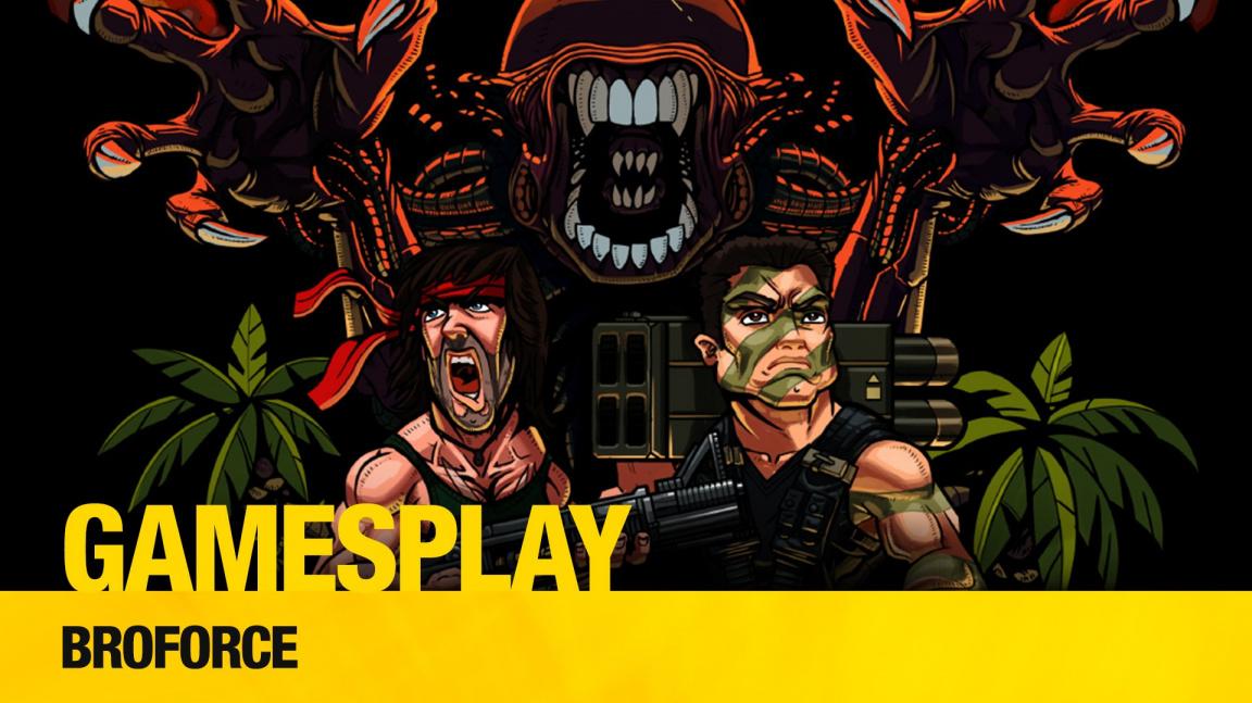 GamesPlay: hrajeme parádní akční řežbu Broforce