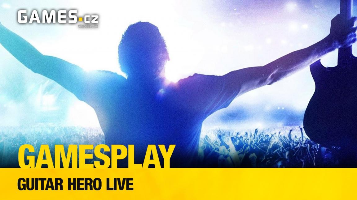 GamesPlay: hrajeme hudební hru Guitar Hero Live