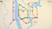 Simulace architekta podzemky Mini Metro se tváří jednoduše, ale umí pořádně potrápit