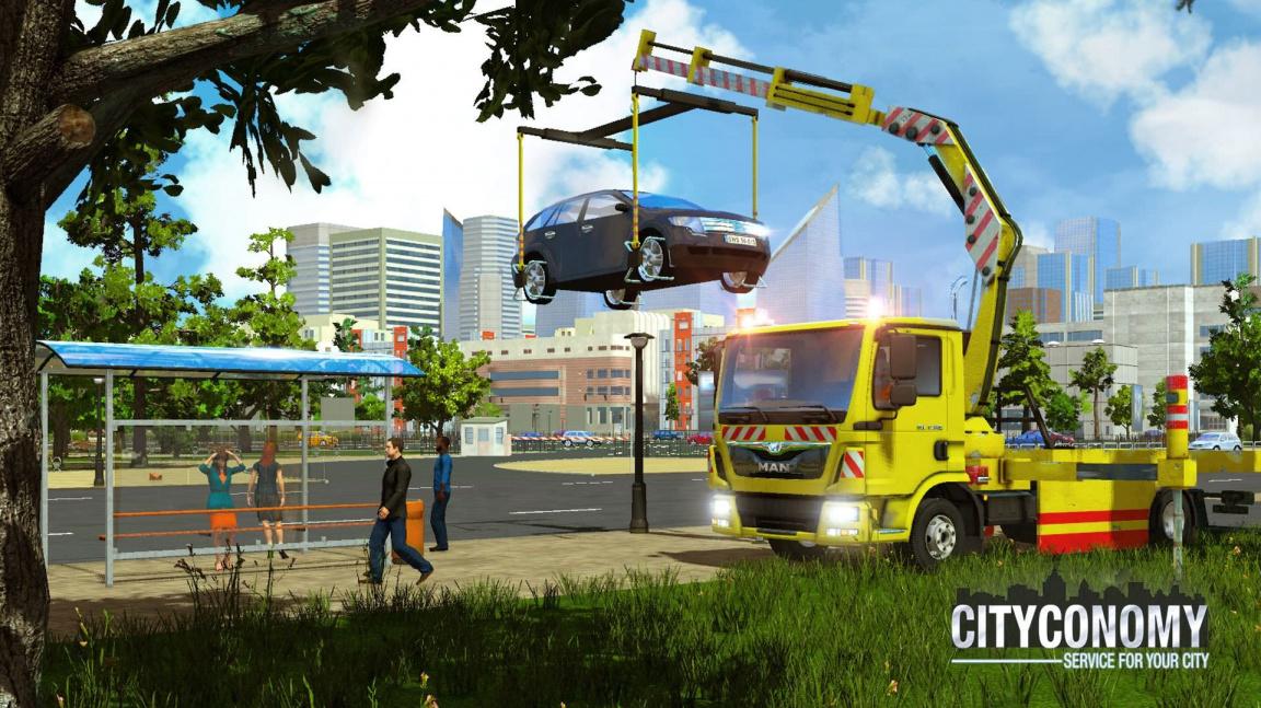 V Cityconomy se staráte o veřejné služby včetně odtahu vozidel