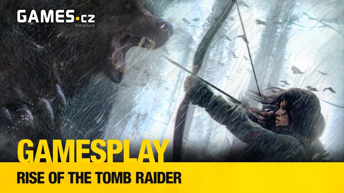 GamesPlay: hrajeme Rise of the Tomb Raider