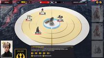Doprovodná aplikace Star Wars Battlefront je ve skutečnosti zajímavá karetní tahovka