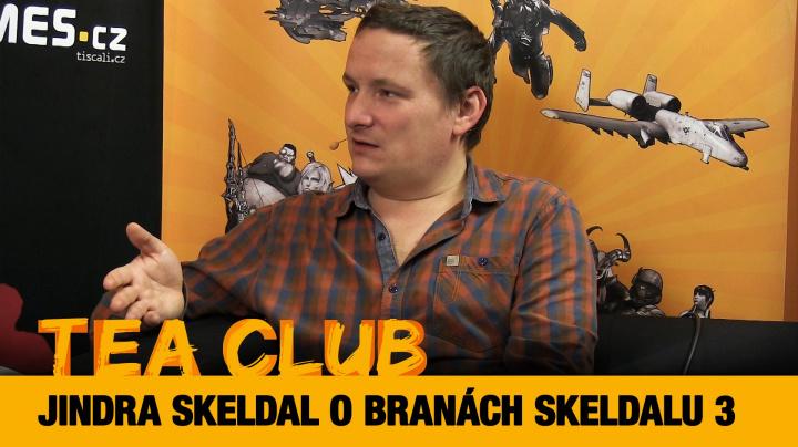 """Tea Club #16: Jindřich """"Rohlík"""" Skeldal o svém RPG Brány Skeldalu 3"""