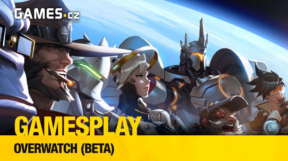 GamesPlay: hrajeme online střílečku Overwatch od Blizzardu