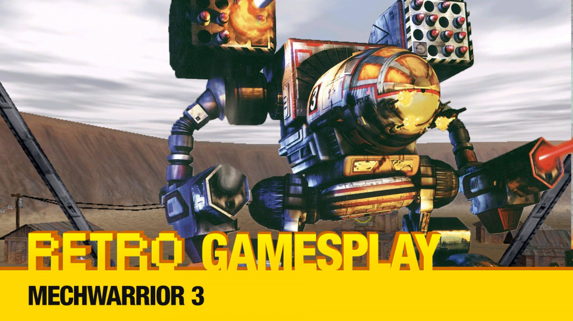 Retro GamesPlay: hrajeme bojovou simulaci Mechwarrior 3