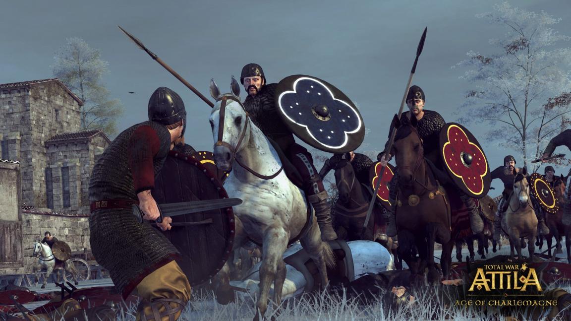 Historické video z Total War: Attila vypráví příběh Karla Velikého