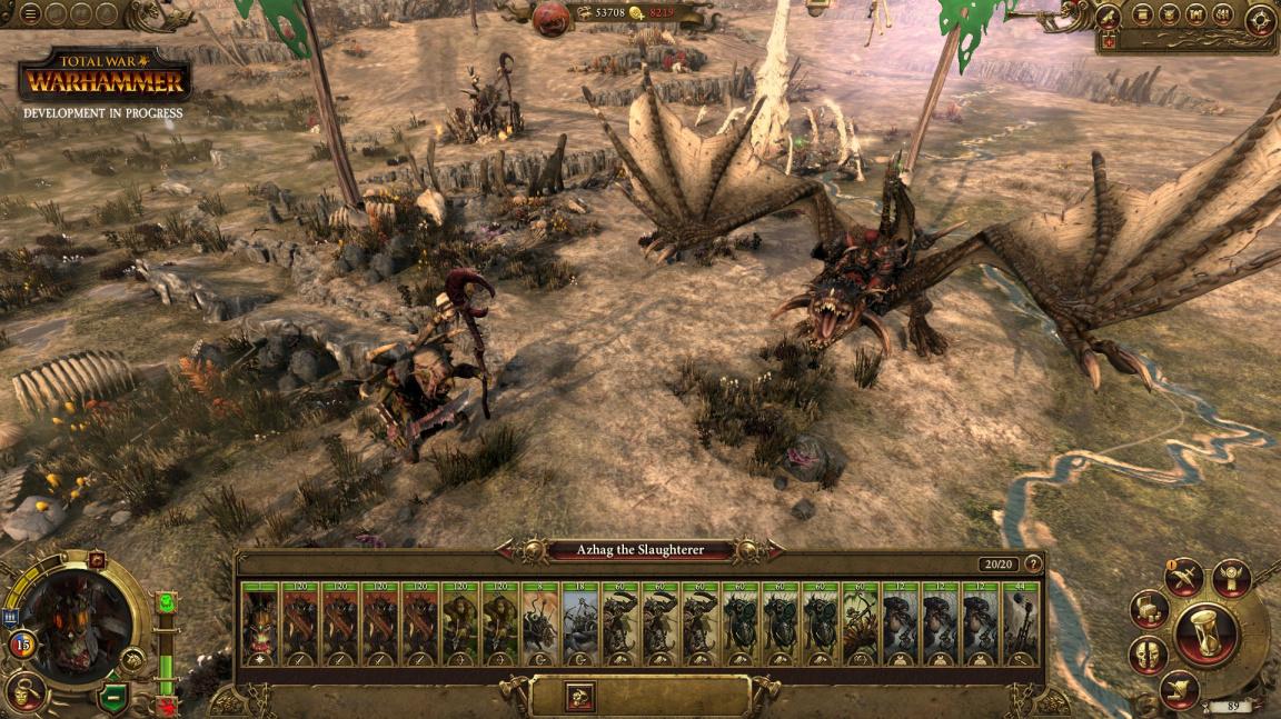 Nové video z Total War: Warhammer představuje krásnou kampaňovou mapu