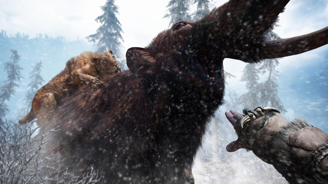 S předobjednávkou Far Cry Primal si můžete zahrát za krvežíznivého mamuta