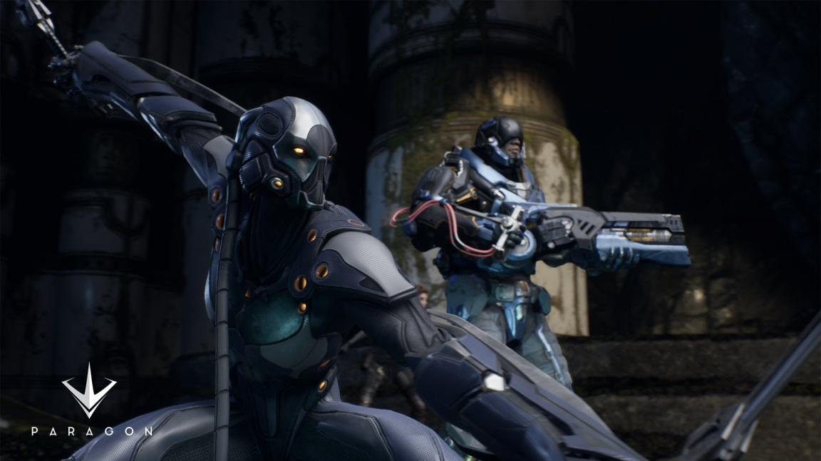 Paragon nezapře dědictví Gears of War a MOBA her