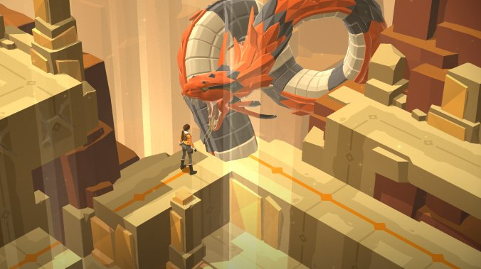Lara Croft GO & The Shard of Life - recenze