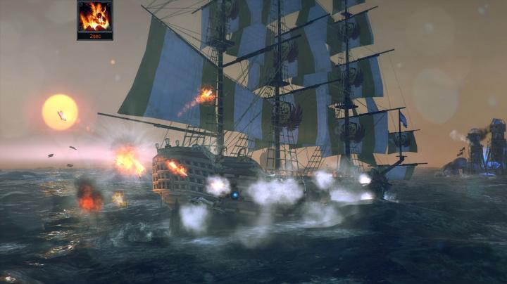 Námořní akce Tempest z vás udělá kapitána pirátské lodi