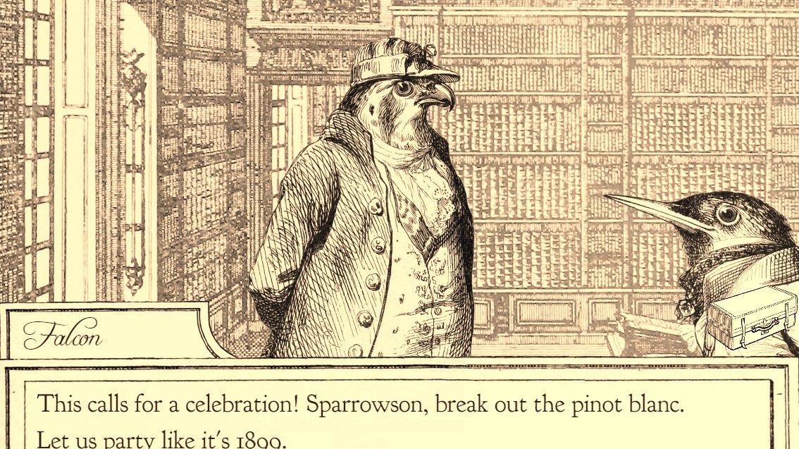 Aviary Attorney vás posadí do role ptačího obhájce v Paříži 19. století