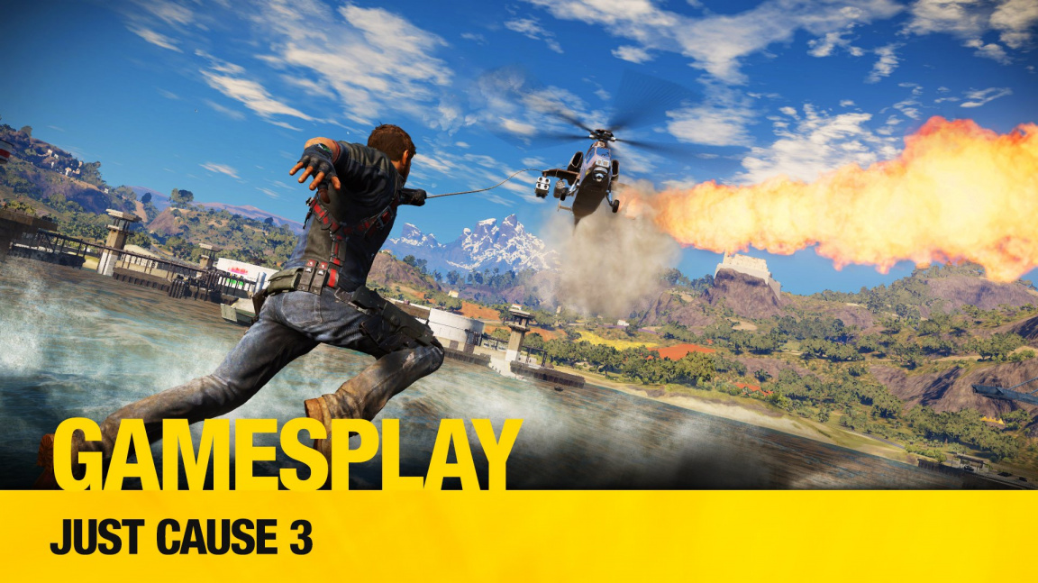 GamesPlay: hrajeme z řetězu utržený sandbox Just Cause 3