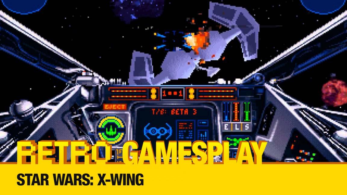 Retro GamesPlay: hrajeme vesmírnou střílečku Star Wars: X-Wing