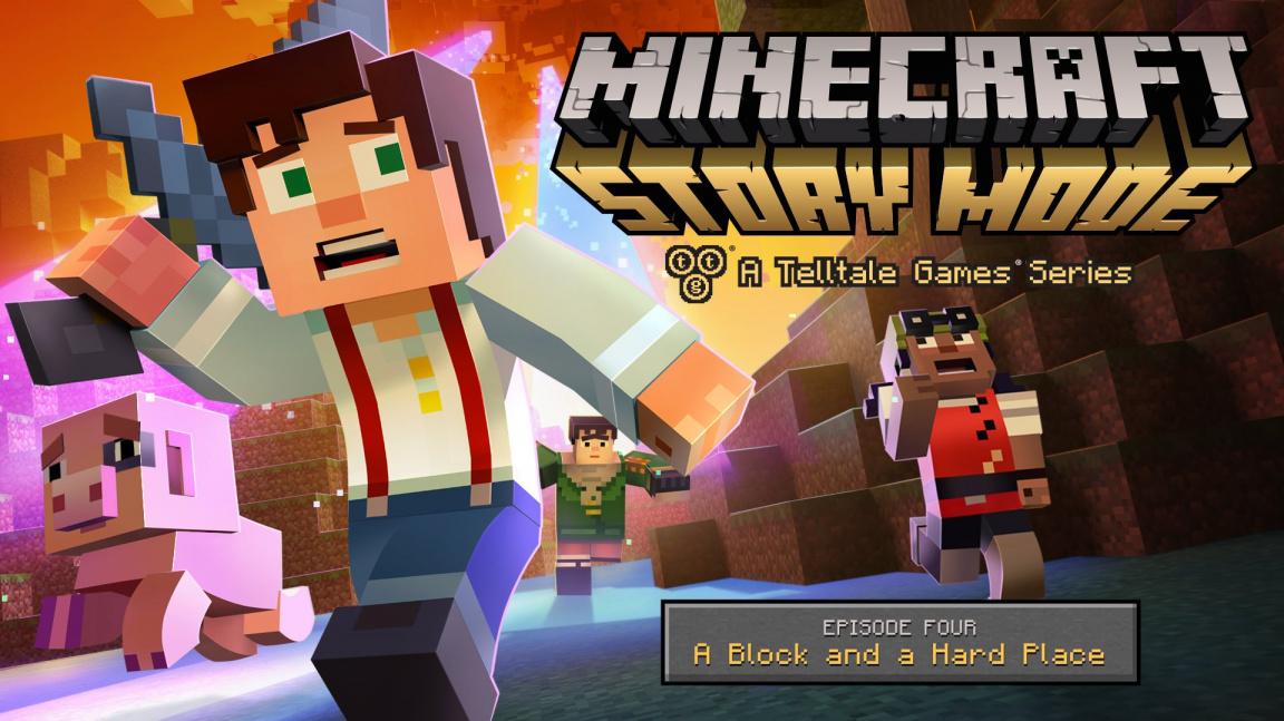 Čtvrtá epizoda Minecraft: Story Mode vás postaví tváří v tvář Wither Storm