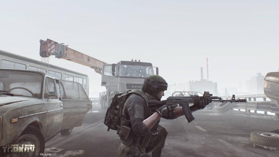 Sledujte záběry z hraní multiplayer akce Escape from Tarkov