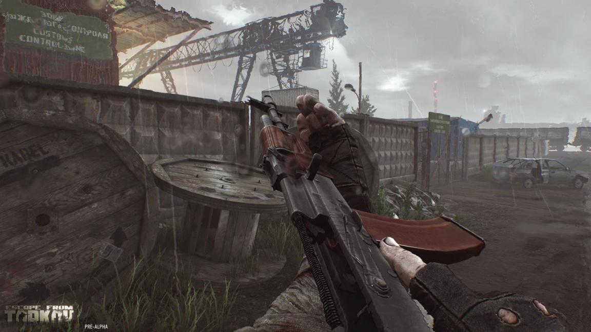 Escape from Tarkov nabídne obrovské množství kombinací zbraňových komponent