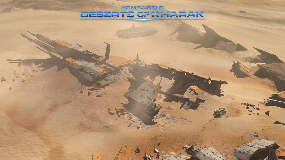 Realtime strategie Homeworld: Deserts of Kharak vyjde už v lednu