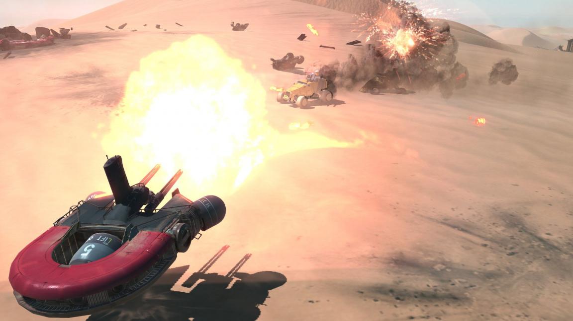 Homeworld: Deserts of Kharak nabízí pohled na šest minut z multiplayerové bitvy