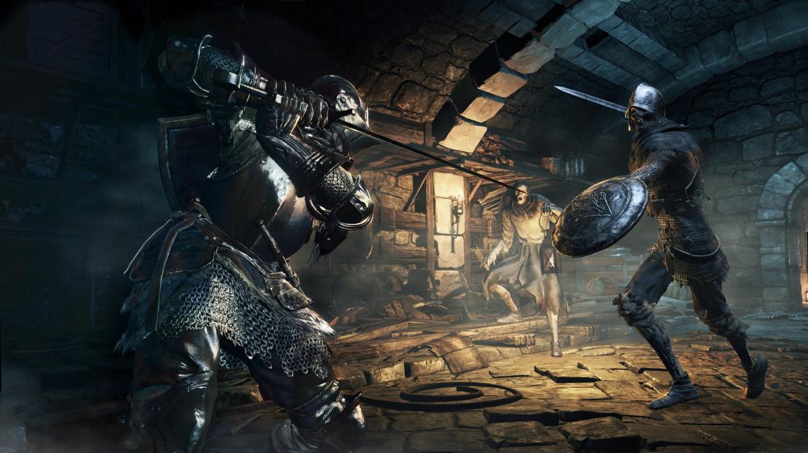 Intro video Dark Souls III mrazí atmosférou Lothricu a probuzením bossáků