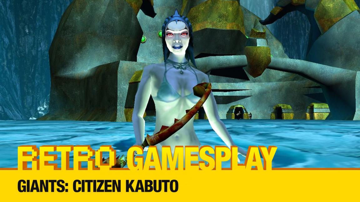 Retro GamesPlay: hrajeme unikátní akci Giants: Citizen Kabuto