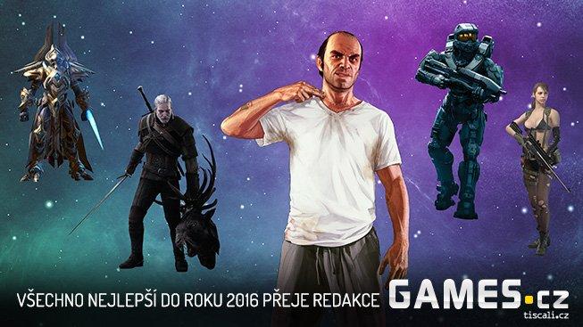 Všechno nejlepší do roku 2016 přeje redakce Games.cz