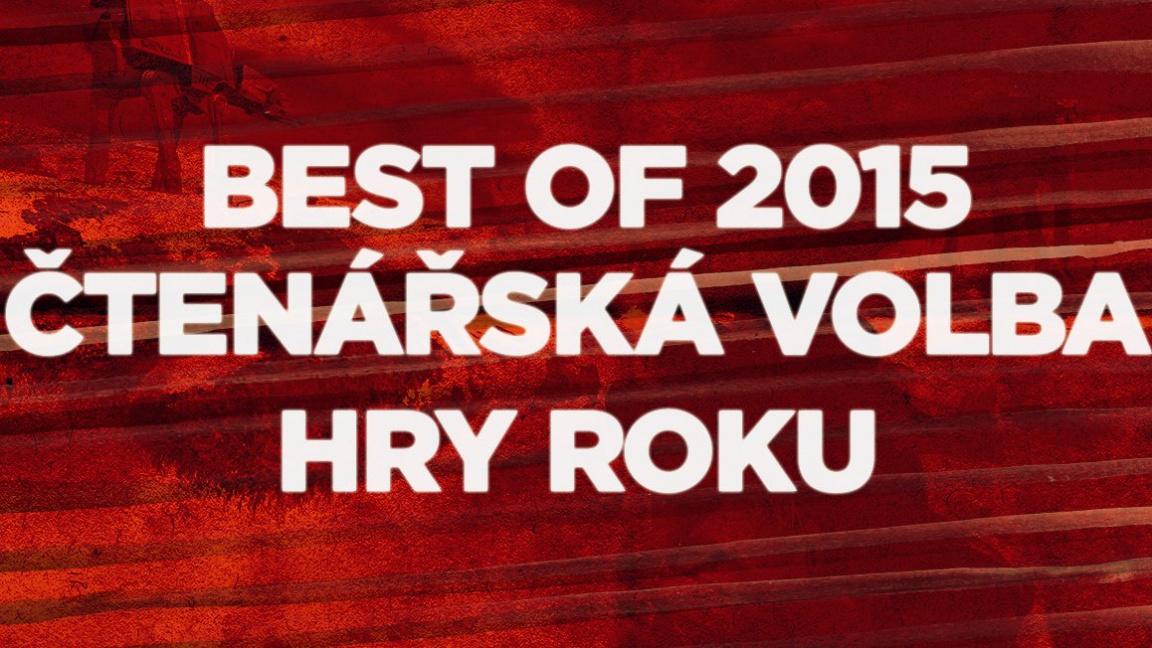 Best of 2015: čtenářská volba hry roku