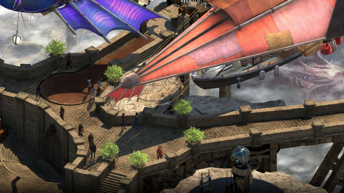 Early access RPG Torment: Tides of Numenera nabízí zhruba pětinu hry
