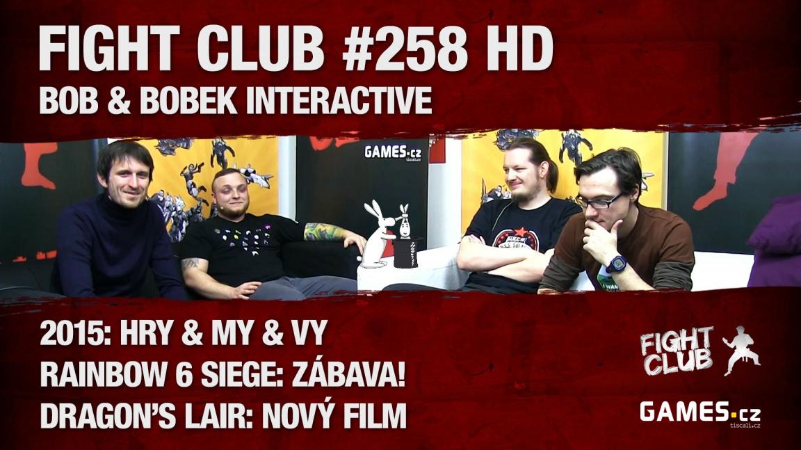 Fight Club #258 HD: Bob a Bobek Interactive