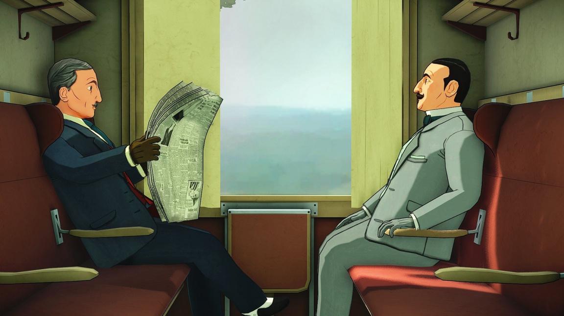 Slavný detektiv Hercule Poirot se vrací v Agatha Christie - The ABC Murders