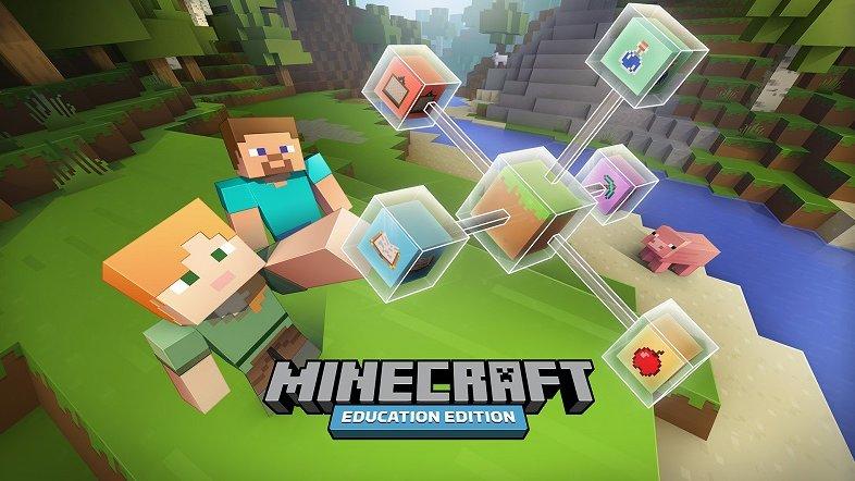Microsoft oznámil rozšíření speciální verze Minecraftu určené pro výuku do škol