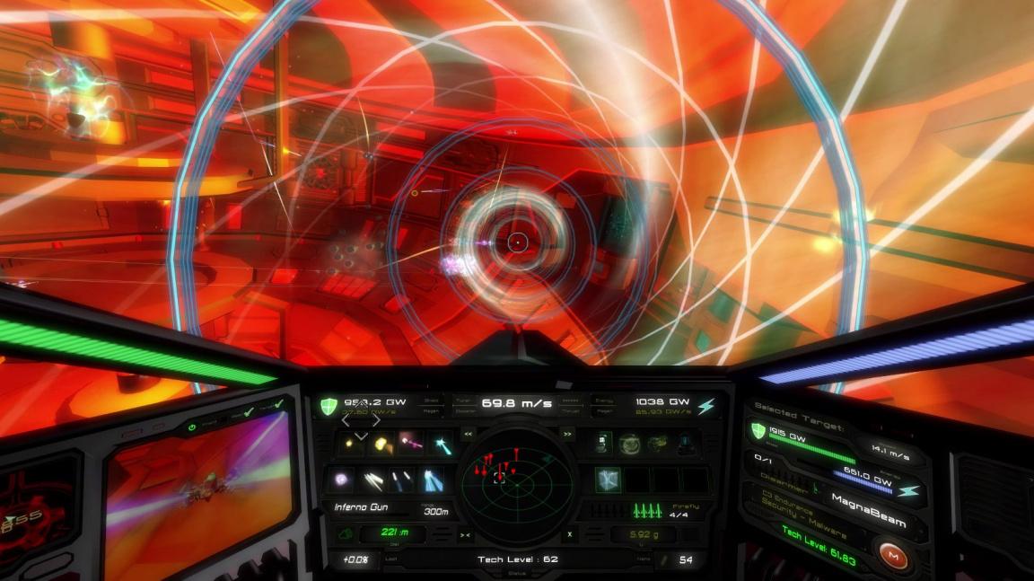 NeonXSZ se tváří jako zběsilá akční kombinace Trona a Descentu