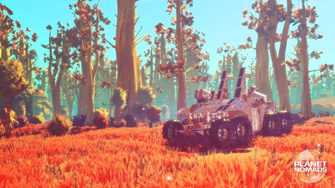 Tvůrci českého sandboxu Planet Nomads měří zájem hráčů na Kickstarteru