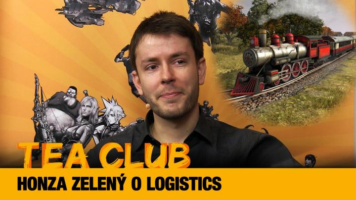 Tea Club #17: Honza Zelený o dopravním tycoonu Logistics