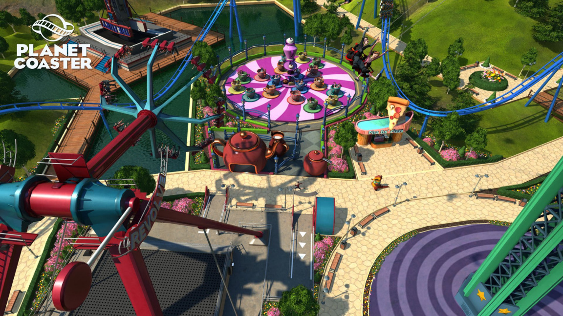 Planet Coaster je odpověď tvůrců Elite na RollerCoaster Tycoon World od Atari