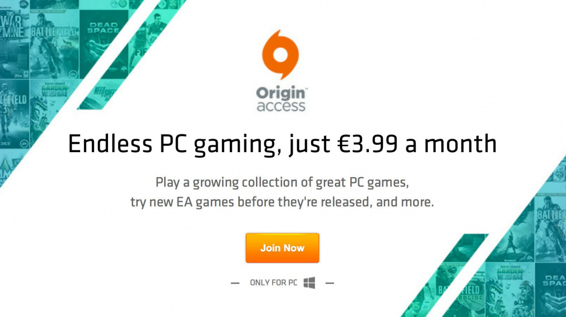 PC služba Origin Access už je dostupná v ČR i na Slovensku