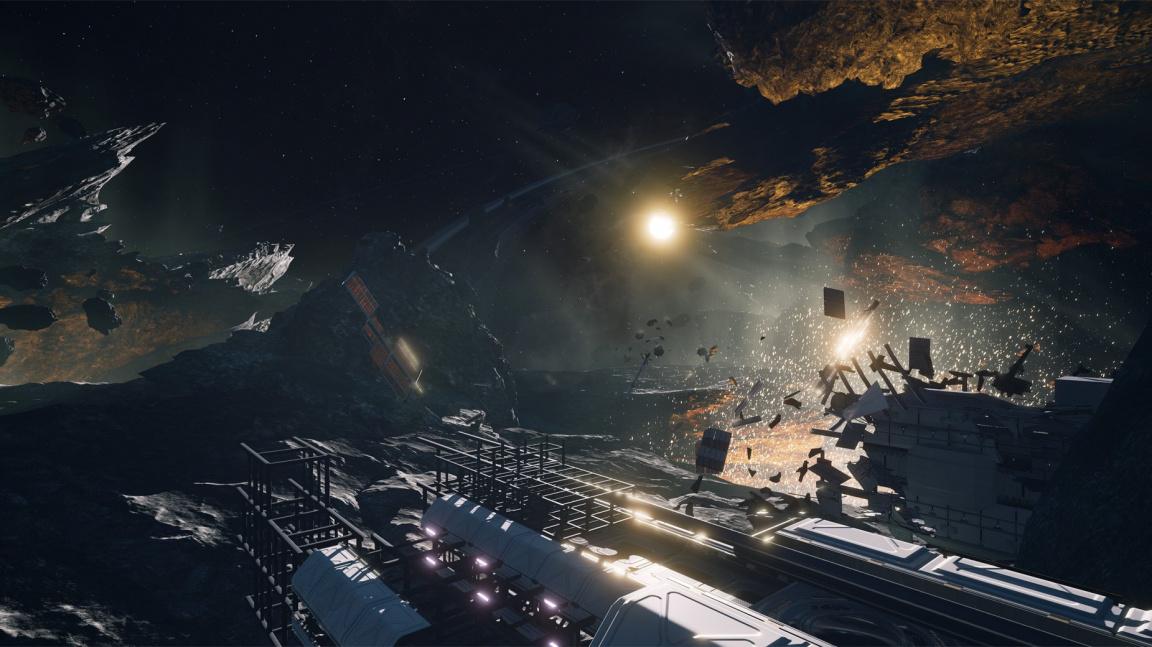 V Detached se pokusíte přežít uprostřed trosek vesmírné stanice - na úkor druhého hráče