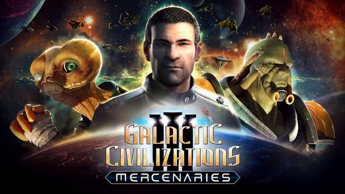Datadisk Galactic Civilizations III: Mercenaries nabídne žoldáky, dvě nové rasy a spoustu vylepšení základní hry