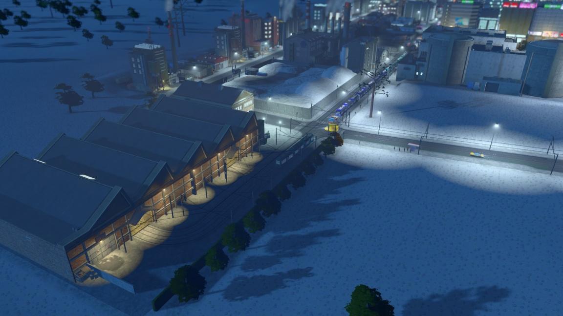 V půlce února zasype vaše město sníh... alespoň v Cities: Skylines